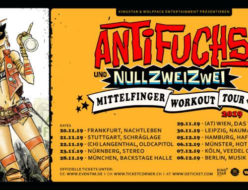ANTIFUCHS & NULLZWEIZWEI: DIE RUSSEN-CONNECTION AUF 'MITTELFINGER WORKOUT TOUR'