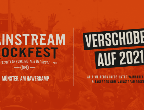 VAINSTREAM ROCKFEST – VERSCHOBEN AUF 2021