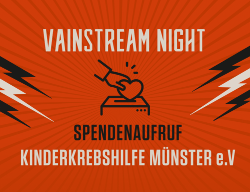 VAINSTREAM NIGHT 2020 – SPENDENKAMPAGNE KINDERKREBSHILFE STIFTUNG