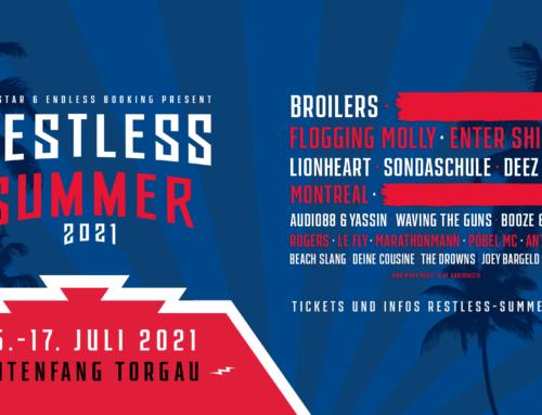 RESTLESS SUMMER FEIERT FESTIVAL-PREMIERE 2021